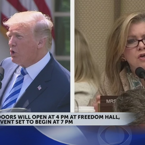 President Trump to hold rally at Freedom Hall in Johnson City