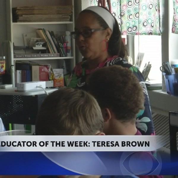 Teresa Brown is this week's Educator of the Week