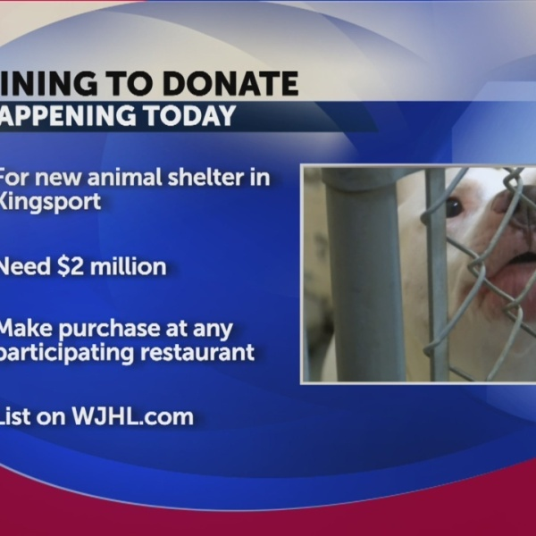 Dine To Donate raising money for local animal shelter