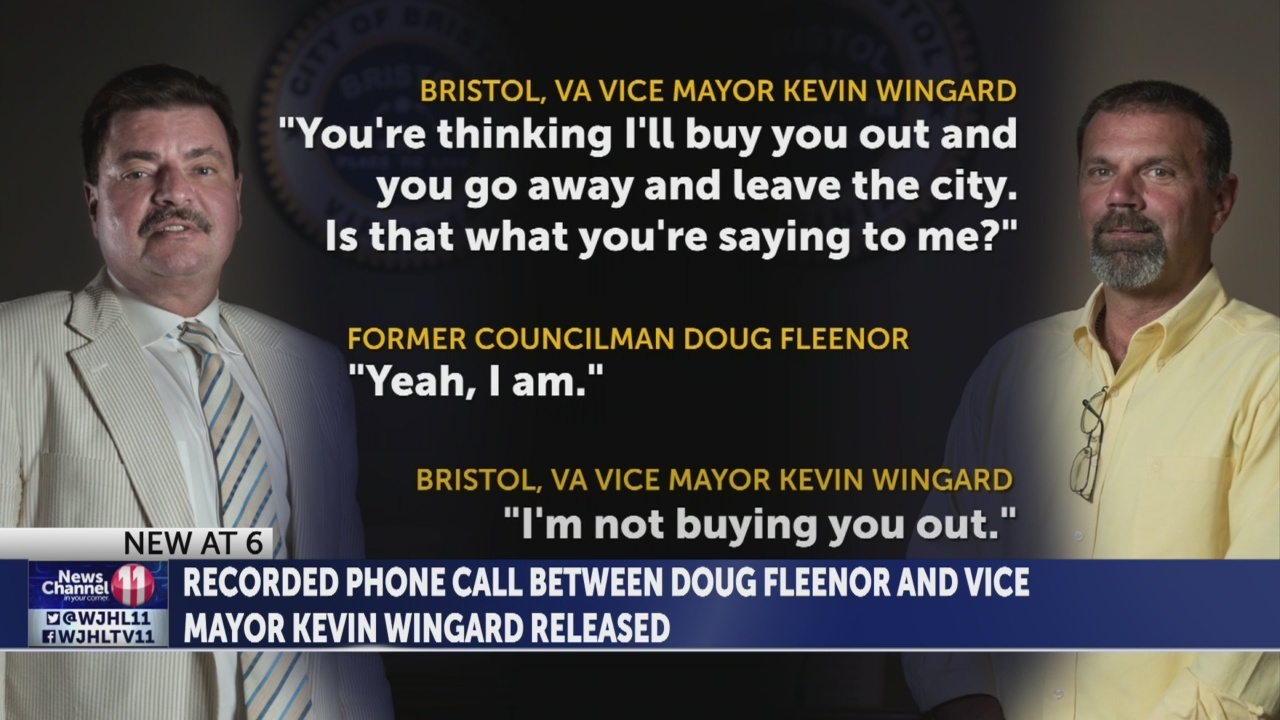 Recording of controversial phone call prompting Councilman Doug Fleenor's removal released