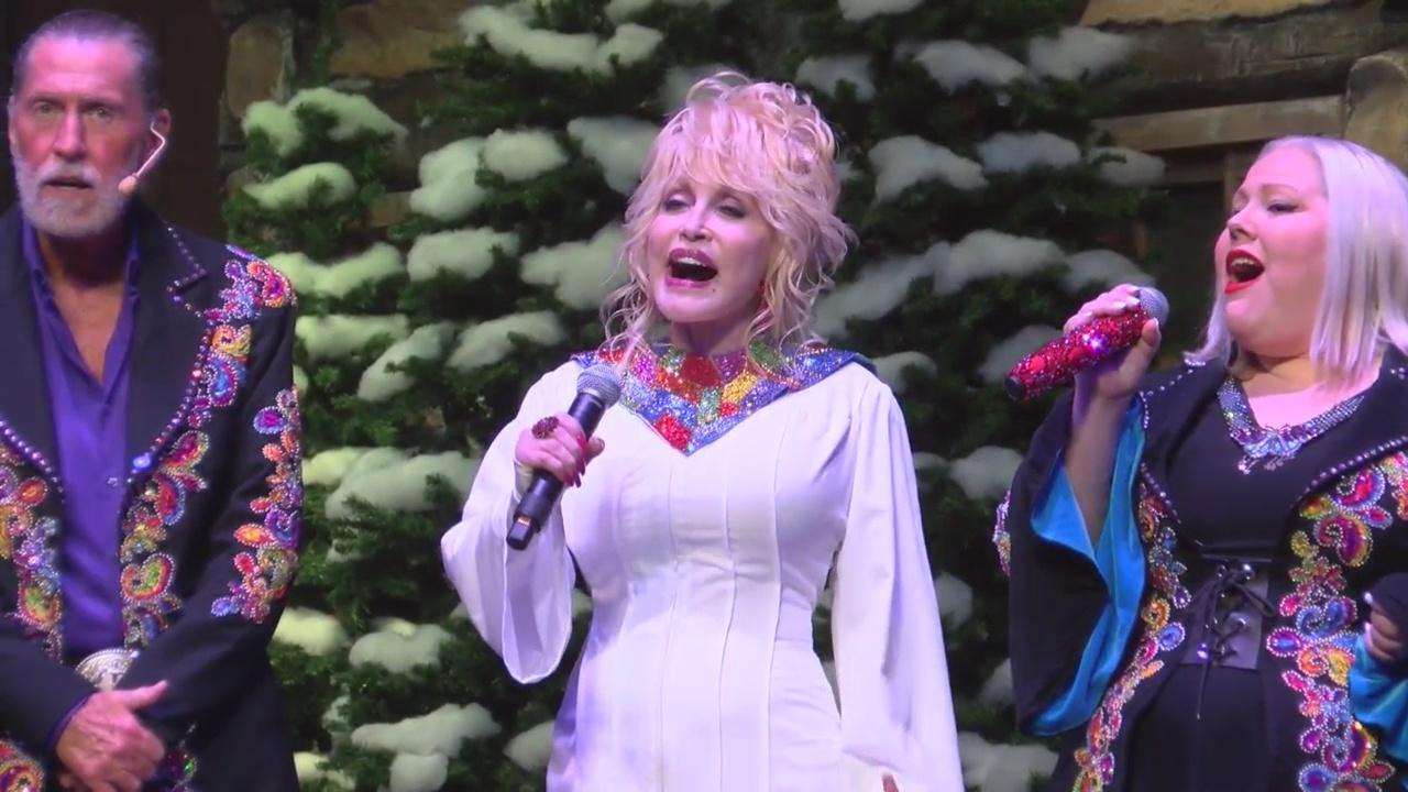 Dolly Parton opens Dollywood's Smoky Mountain Christmas