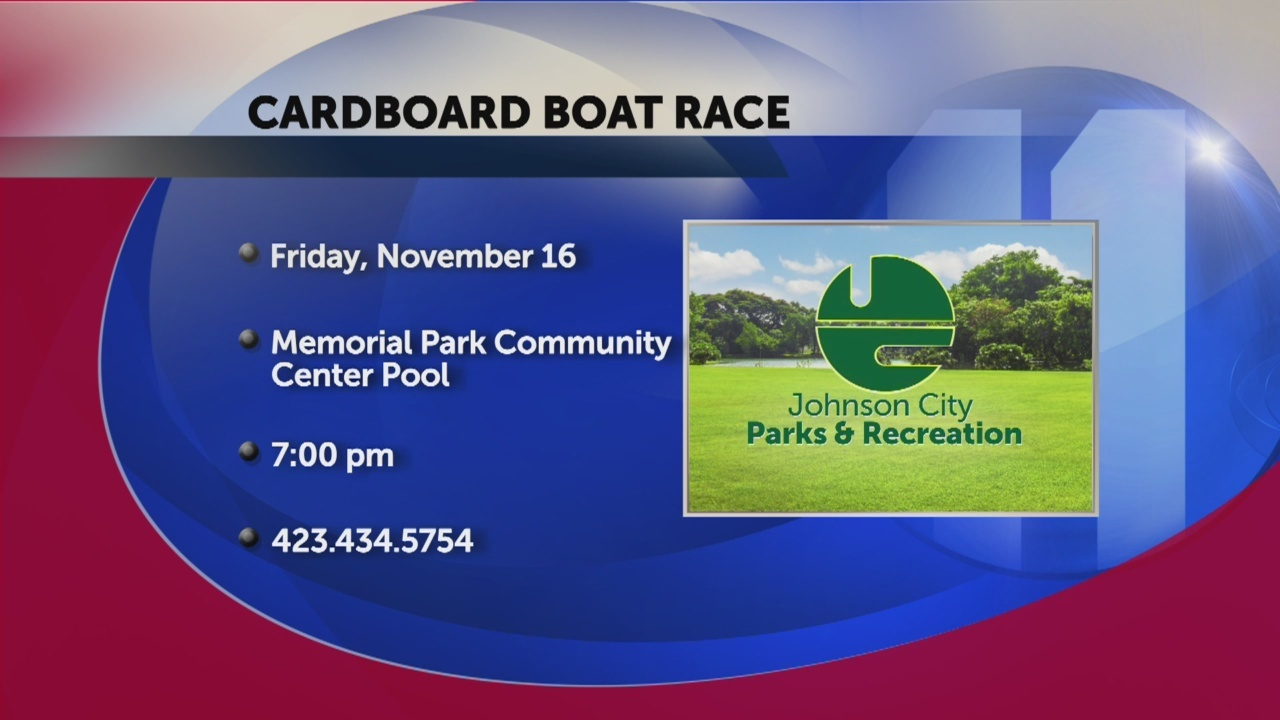 Johnson City Parks and Recreation invites you to come float a boat