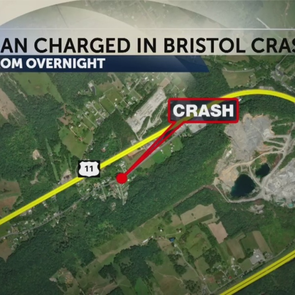 Man charged with DUI in Bristol Crash