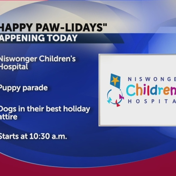 "Niswonger to hold ""Happy Paw-lidays"" parade"