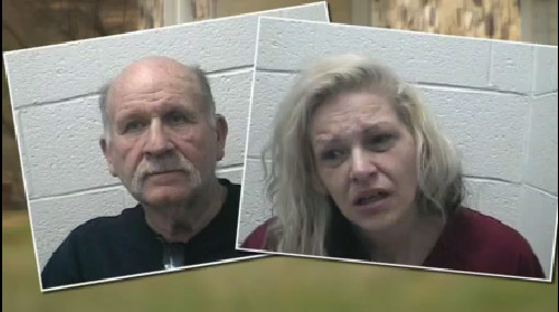 File photo from February 2, 2017 Mickey Sparks, age 69, and Patricia Laws, age 43. (Source_ Washington County Sheriff's Office)_275228
