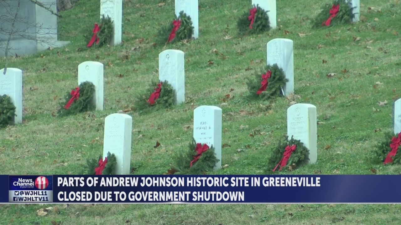 Andrew Johnson Historic Site affected by government shutdown