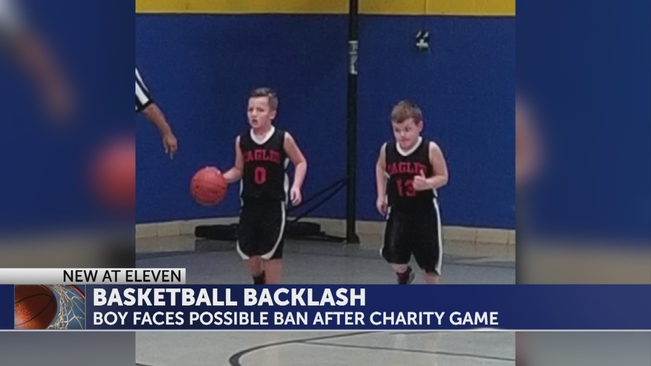 Carter County boy facing a possible ban after playing in a St.Jude charity game