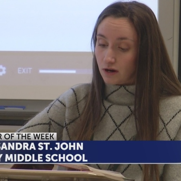 Cassandra St. John is the Educator of the Week