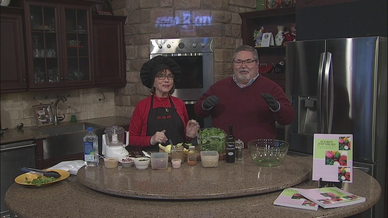 Curried Lentils with Raw Chef Jane