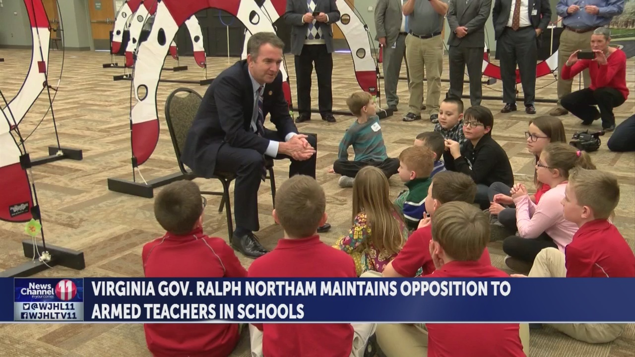 Governor Northam maintains opposition to arming teachers, despite Lee County lawsuit