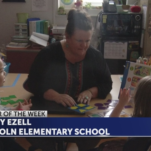 Misty Ezell is Educator of the Week