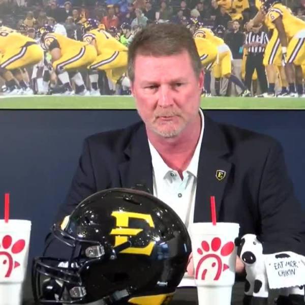 ETSU coach Randy Sanders on class of new recruits