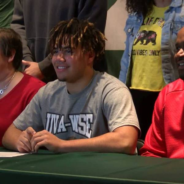 Jaevon Gillespie signs with UVA-Wise