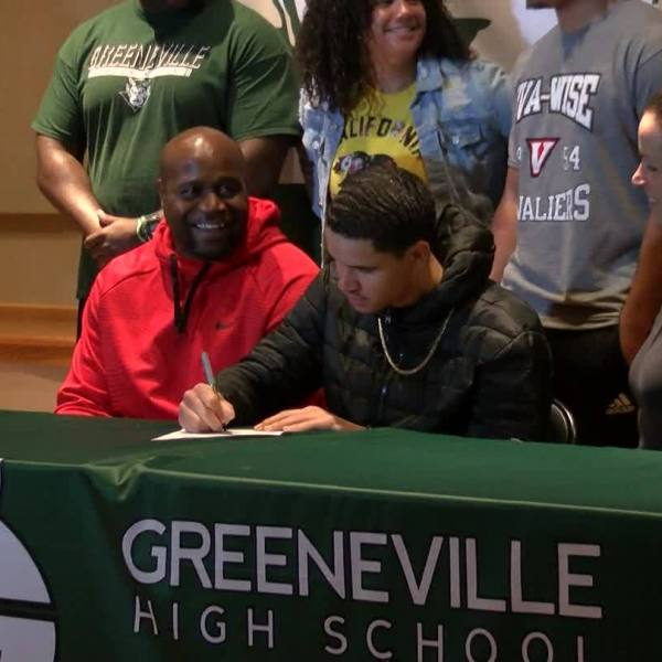 Jordan Gillespie signs with UVA-Wise