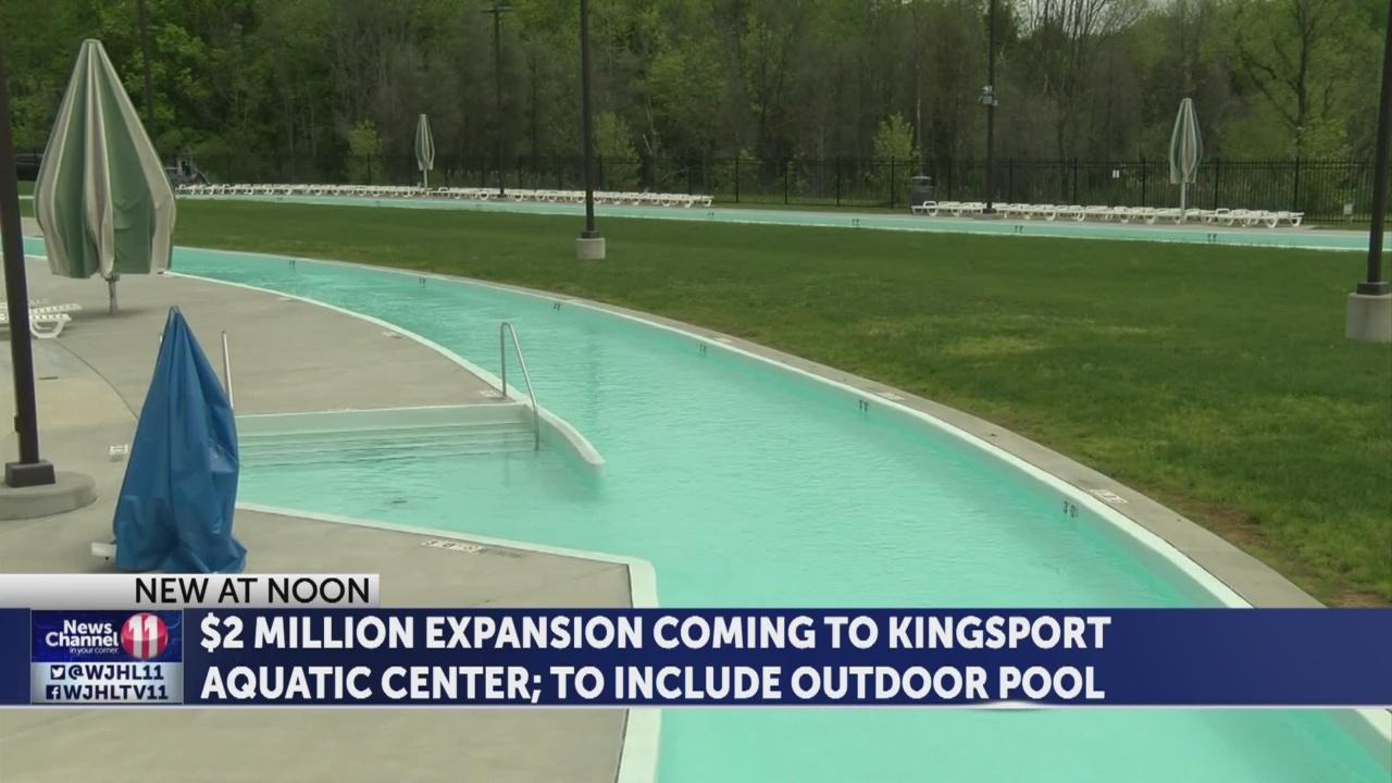 Kingsport Aquatic Center renovations