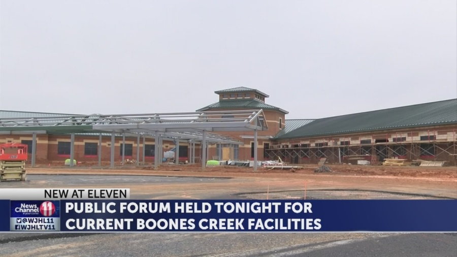 Public forum held on new Boones Creek school