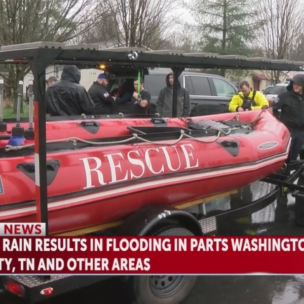 Women, children rescued by boat in Carmel Village due to flooding