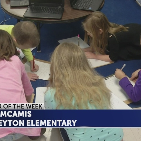 Amy McAmis is Educator of the Week