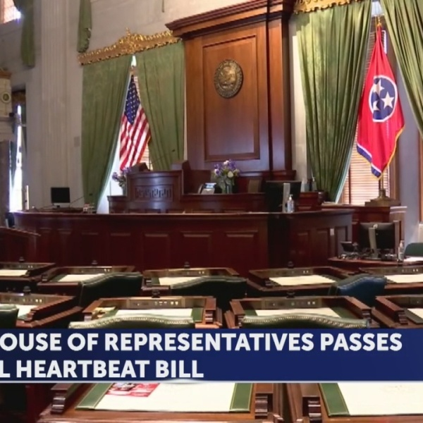 'Fetal heartbeat bill' passes TN House, faces uncertain future in Senate