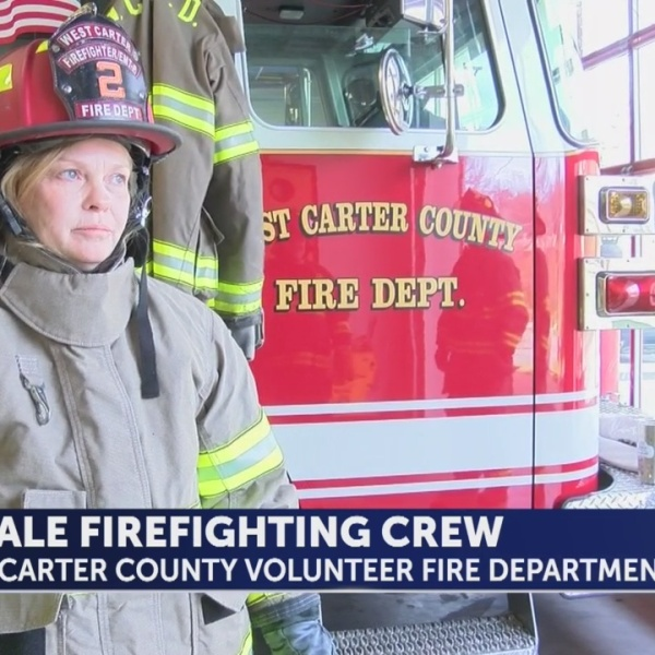 First all-female firefighting crew hosing down stereotypes in Carter County