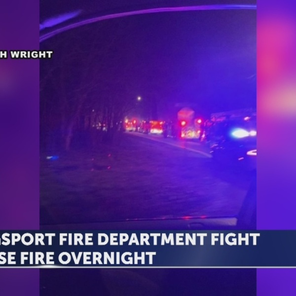 Kingsport fire department battle house fire, family displaced