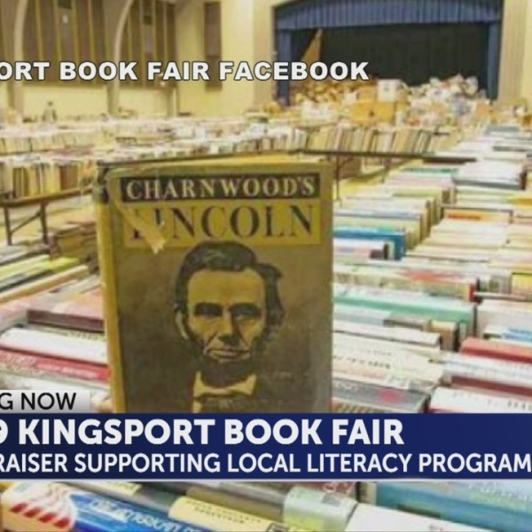 Local literacy program kicks off Kingsport Book Fair