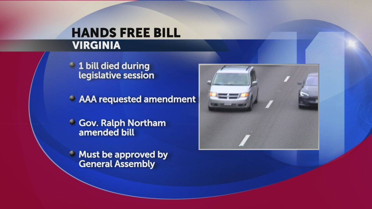 Northam wants to give handheld cellphone ban another try