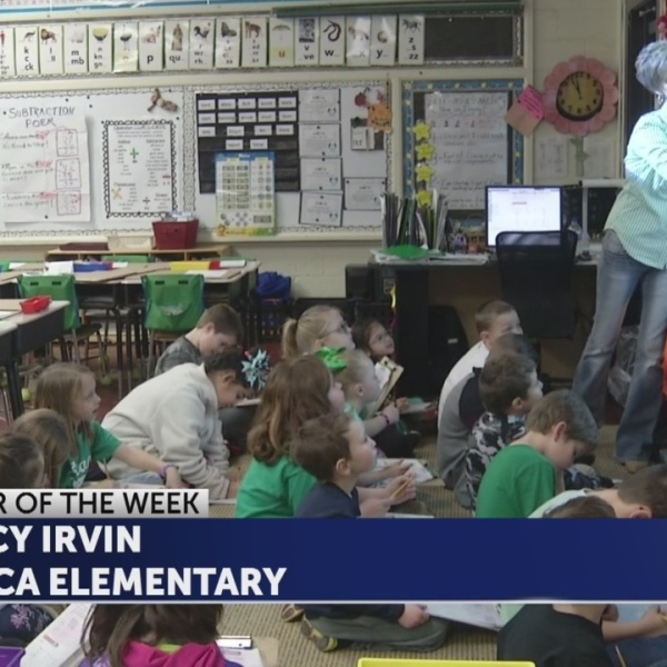 Tracy Irvin is Educator of the Week