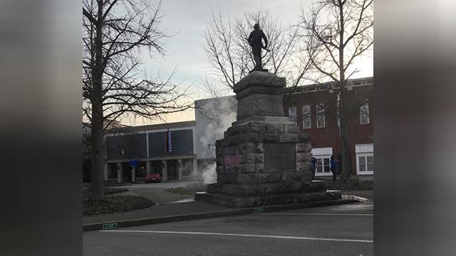Murfreesboro statue vandalized-873703986