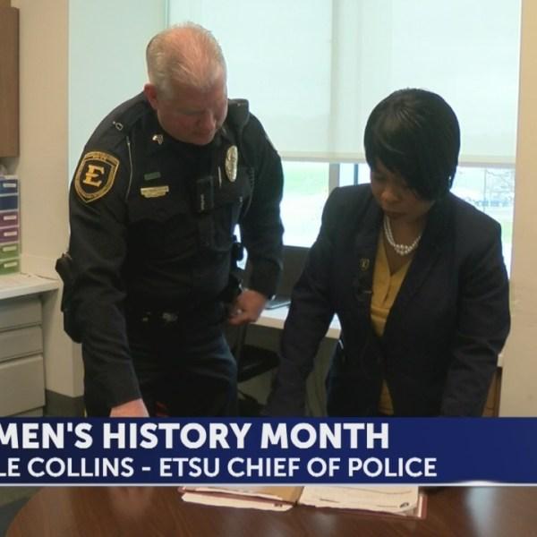 Women In History: ETSU Chief of Police Nicole Collins