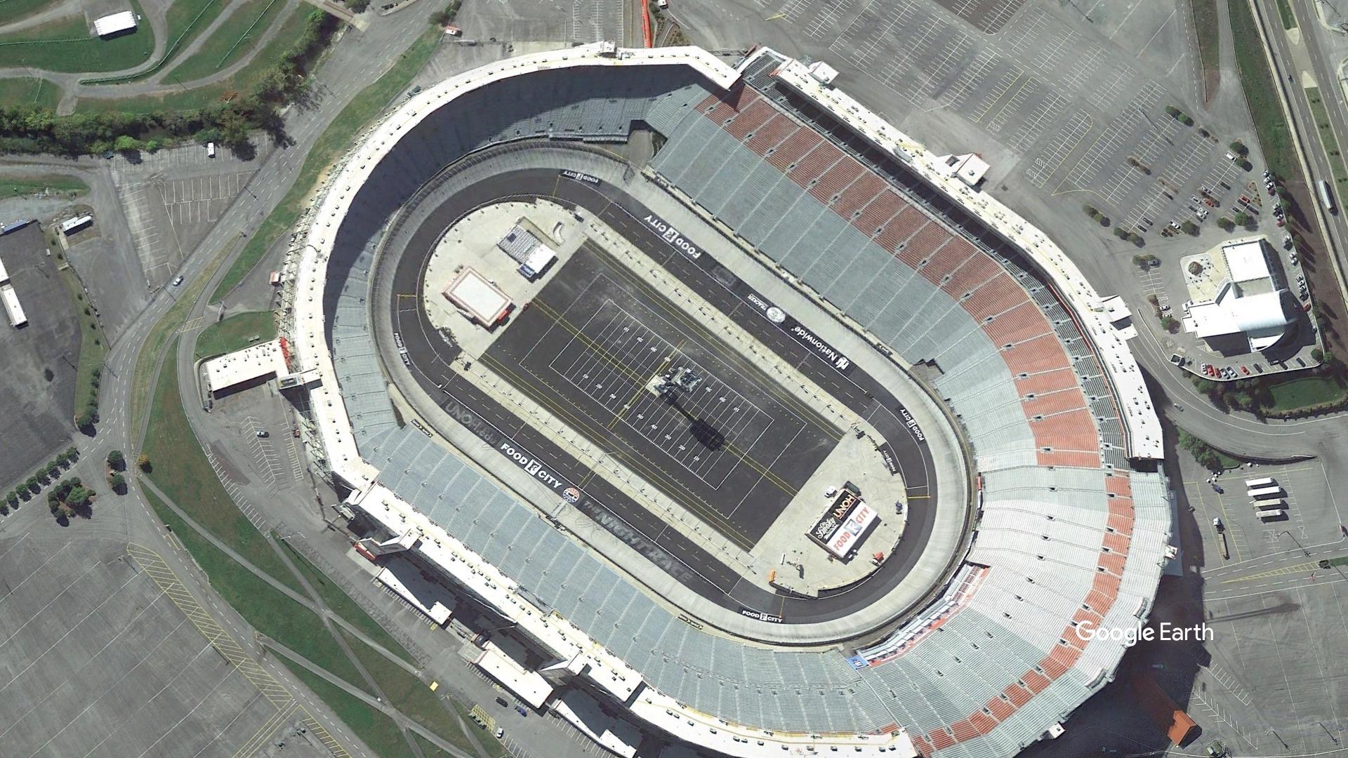 Bristol Motor Speedway from Google Earth-727168854