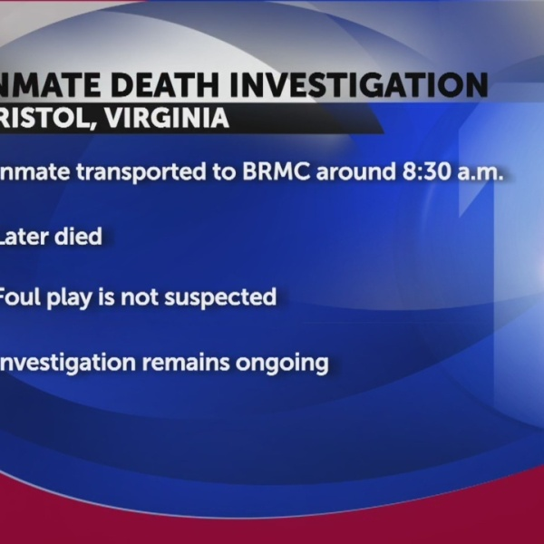 Bristol inmate death being investigated