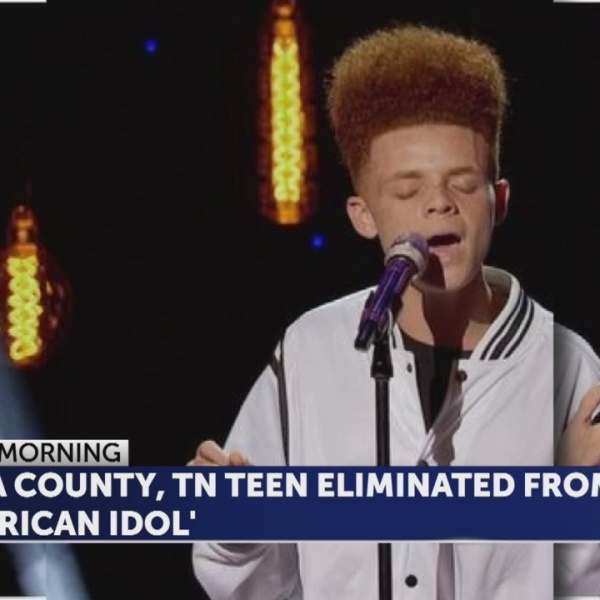 East Tennessee teen eliminated from 'American Idol'