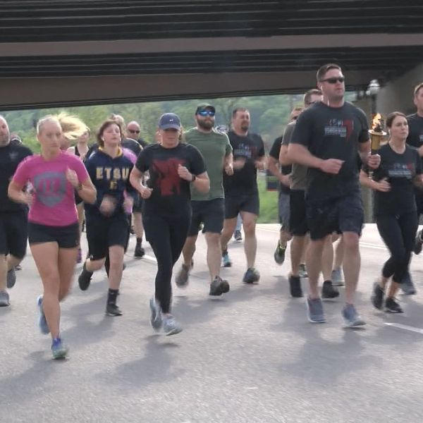 First responders help kick off Special Olympics in Johnson City