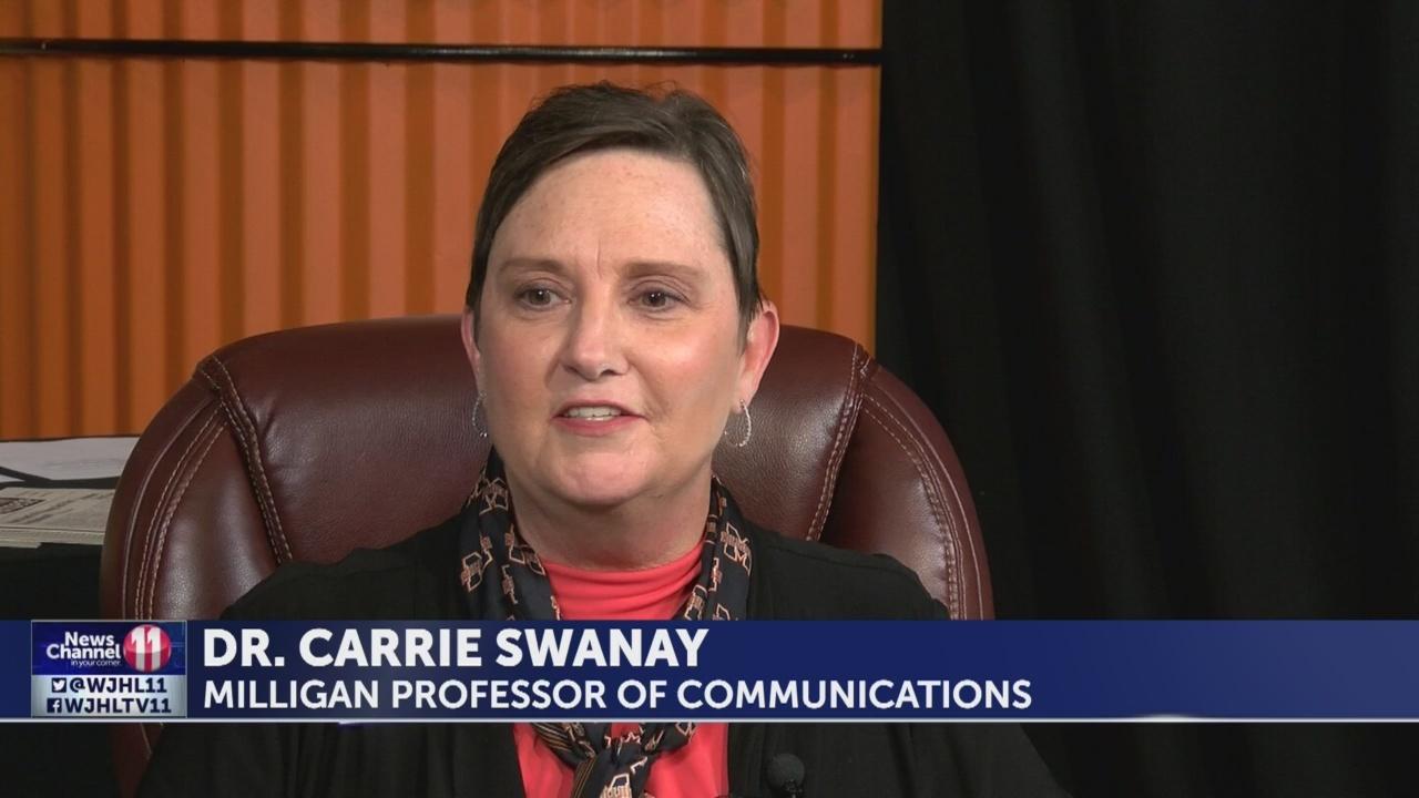 Milligan dedicates TV studio to longtime professor