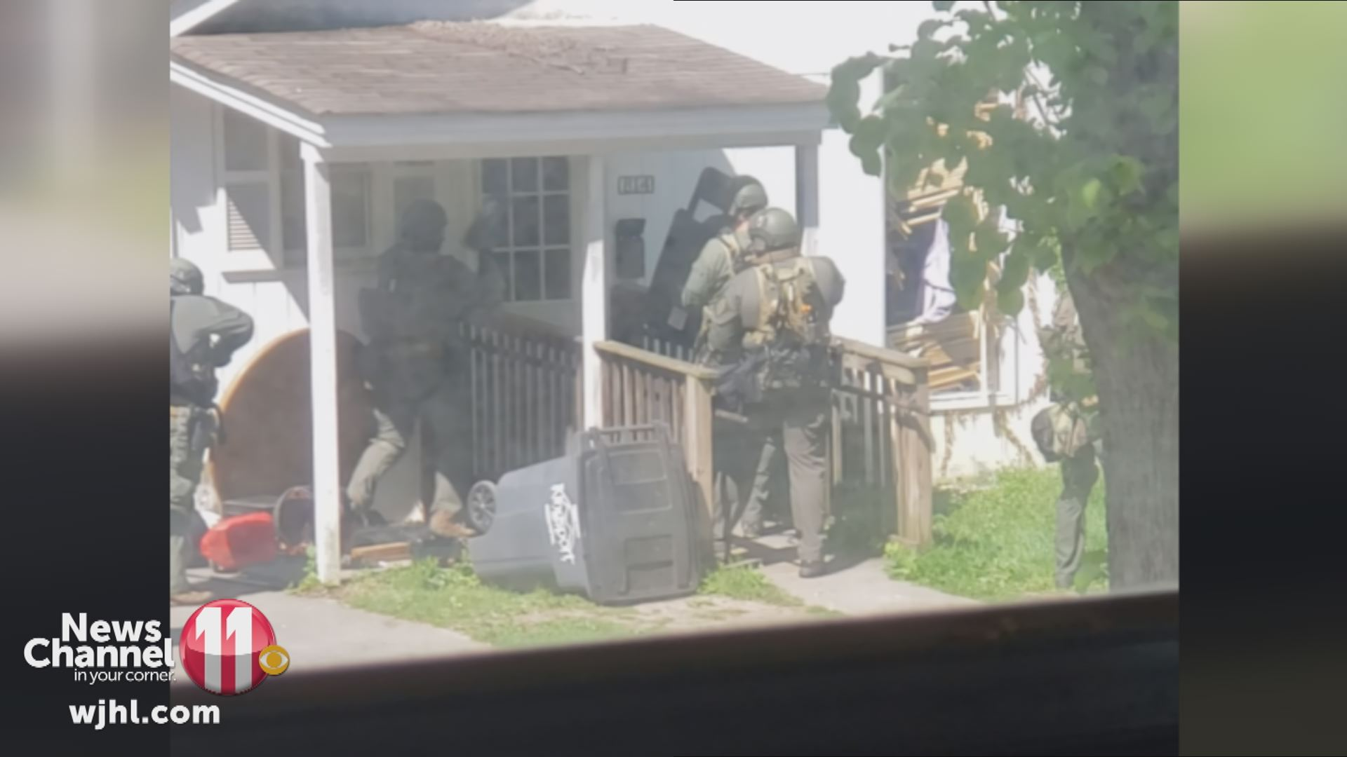 Kingsport PD officers use flashbangs in search warrant