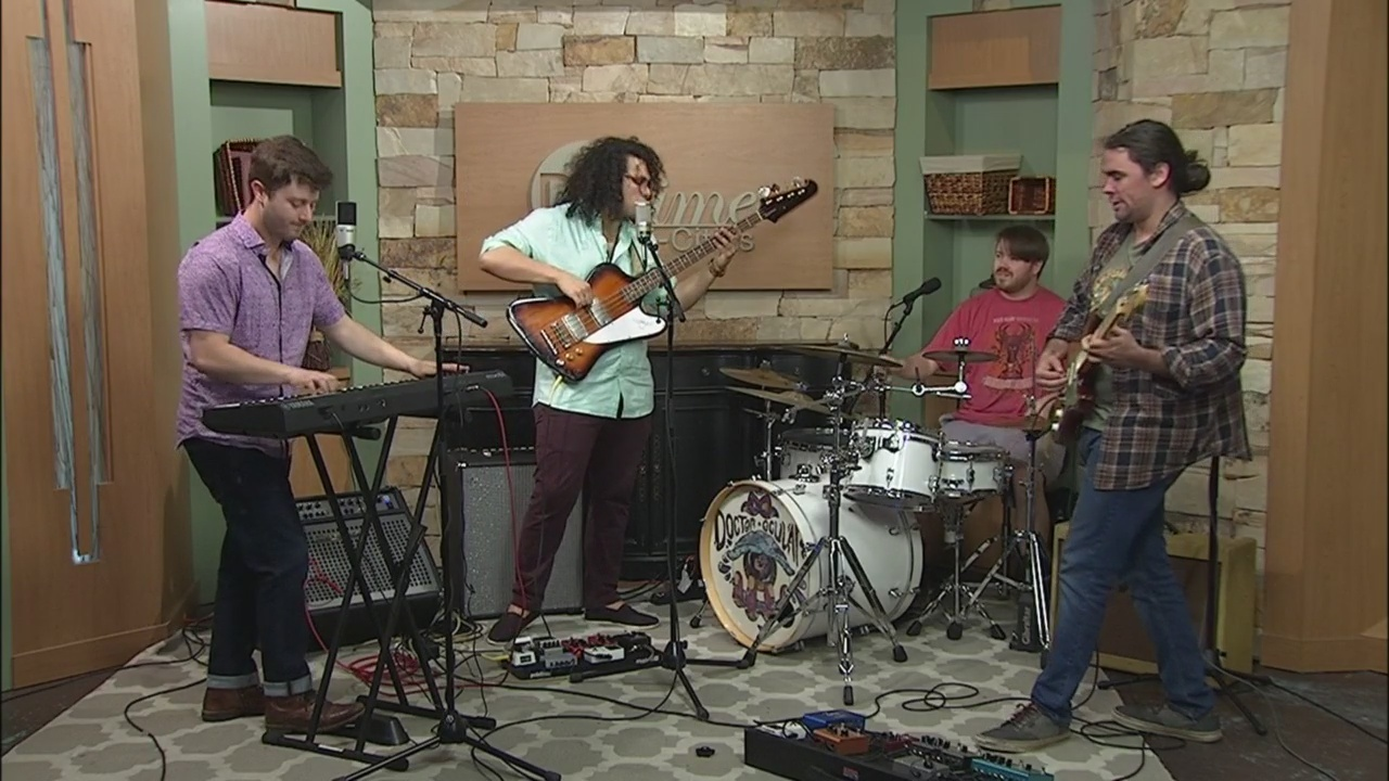 Doctor Ocular Performs on Daytime Tricities