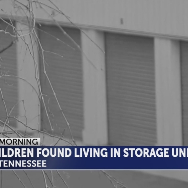 East Tennessee children discovered in storage unit
