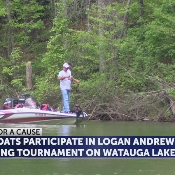 Logan Andrews fishing tournament