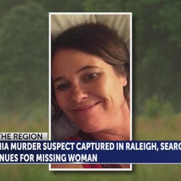 Man arrested for Virginia murder; Woman still missing