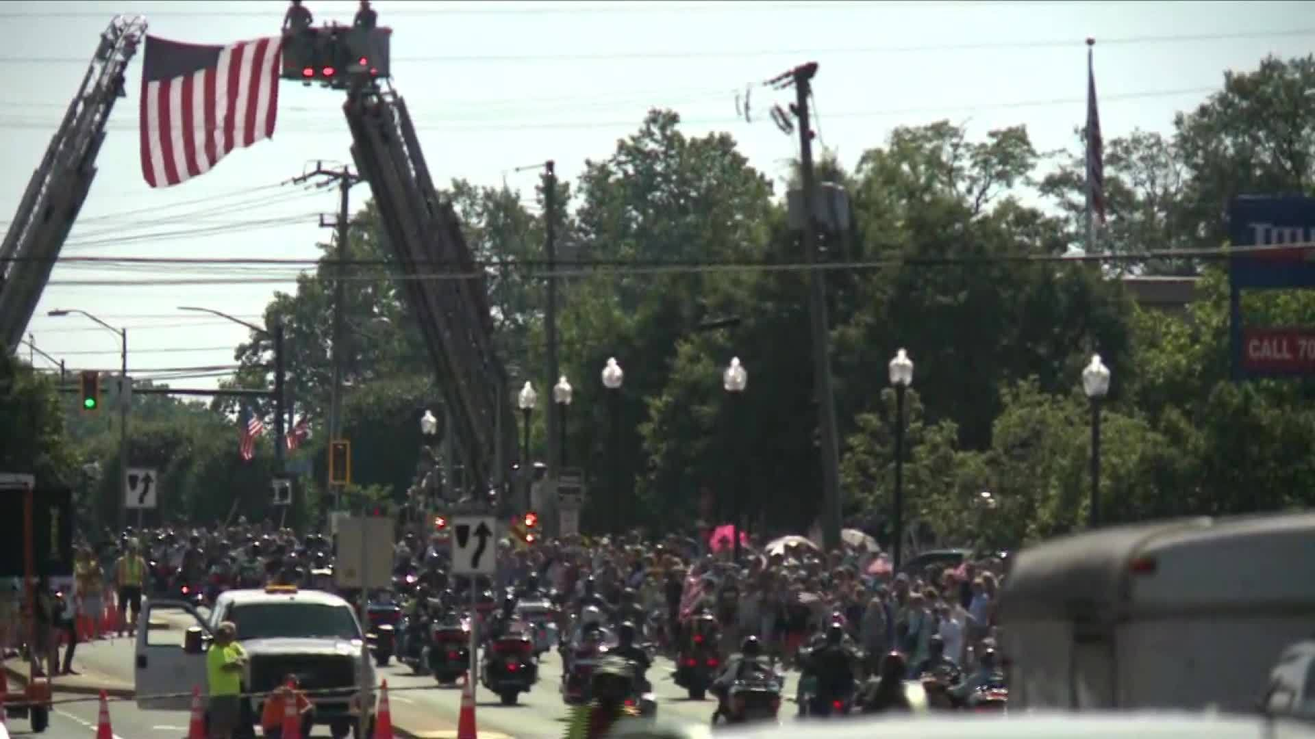 Rolling Thunder has final national motorcycle rally