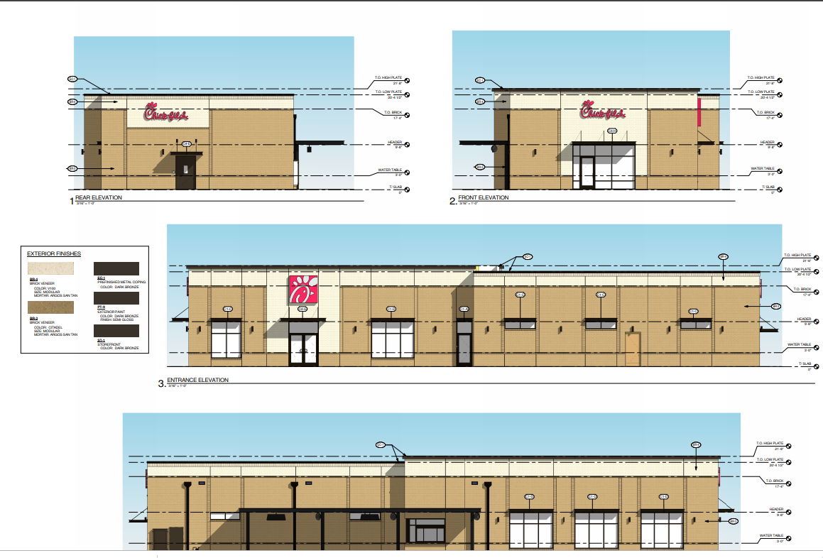 Greeneville Chick Fil A Plans Receive Approval