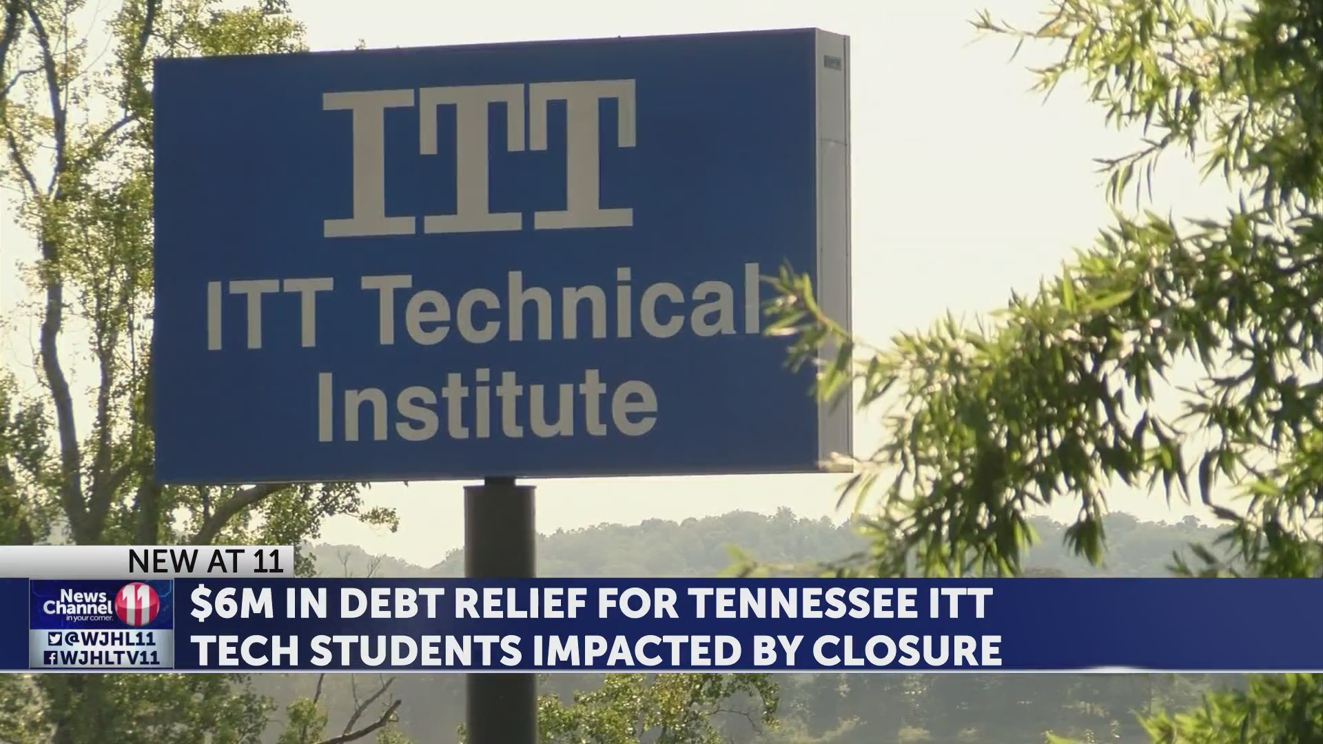 $6M in debt relief for TN ITT Tech students impacted by closure