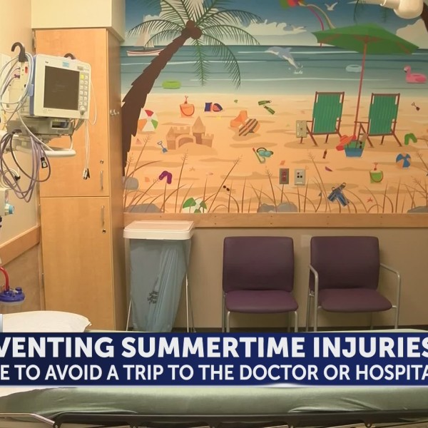 Common summertime injuries that drive children to the hospital