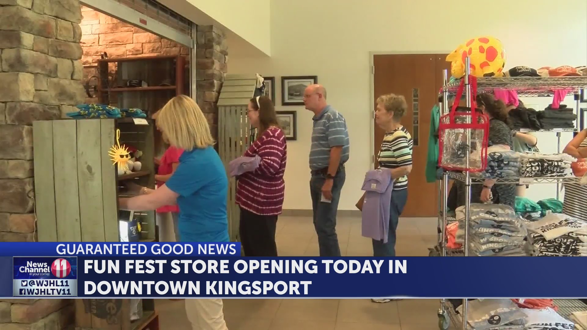 Fun Fest Store opening today in downtown Kingsport
