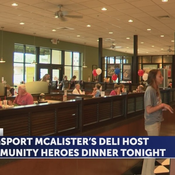 Kingsport McAlister's Deli hosts community heroes dinner Monday