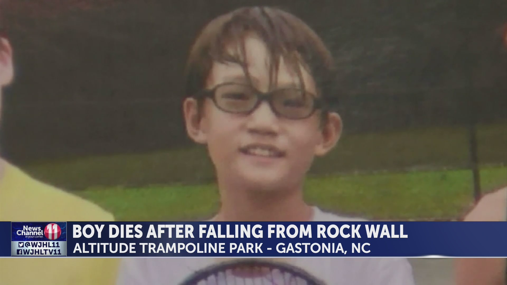 NC boy dies during fall at business