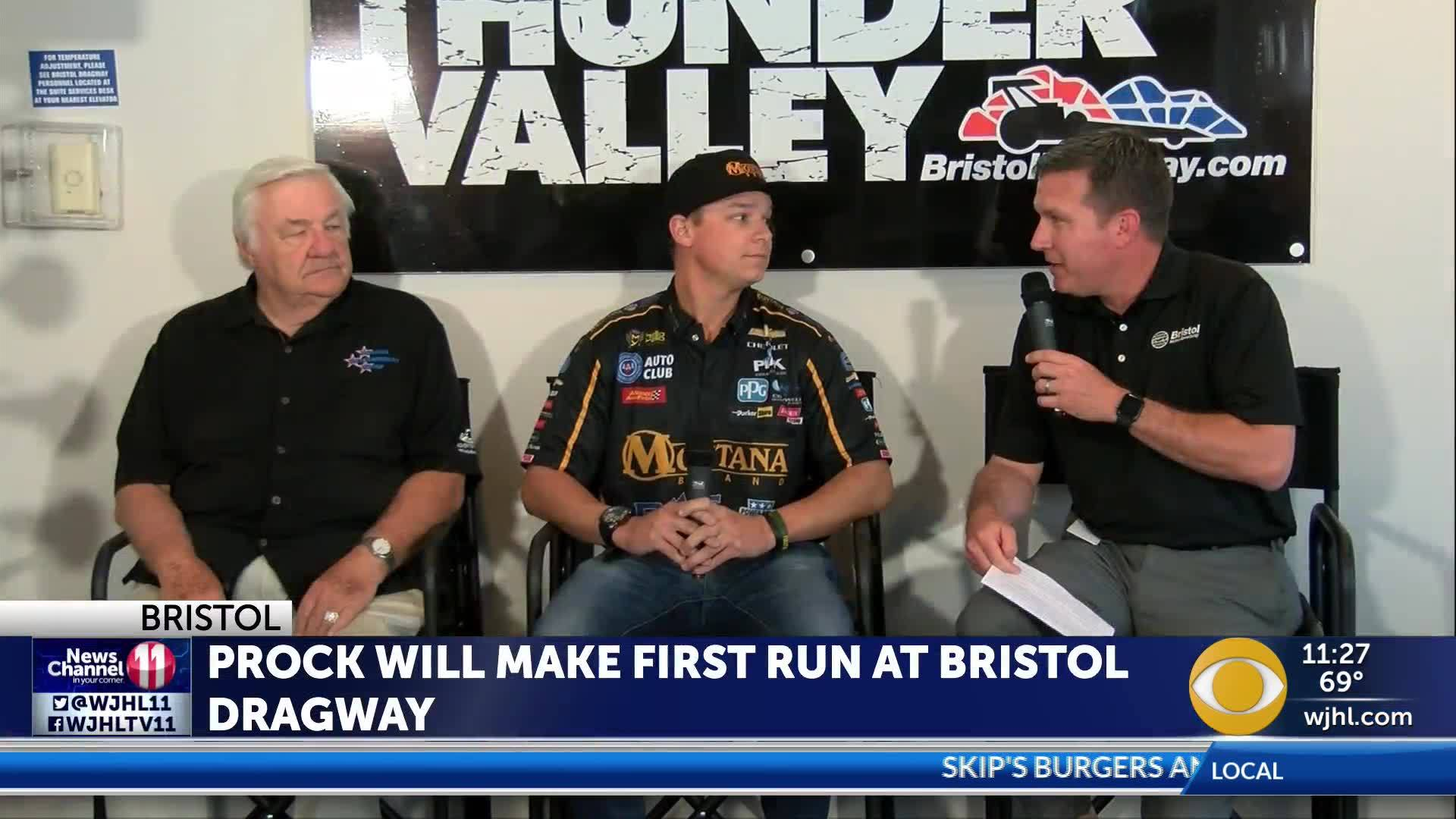 NHRA rookie Austin Prock prepares for his ride in Thunder
