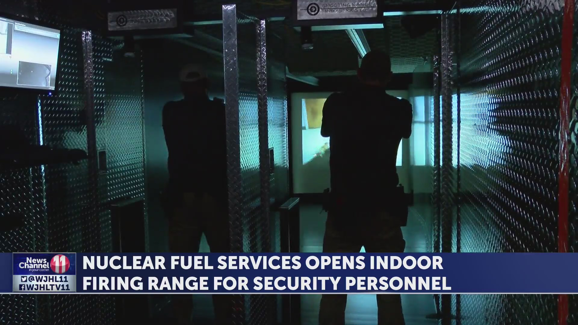Nuclear Fuel Services opens indoor firing range for security personnel