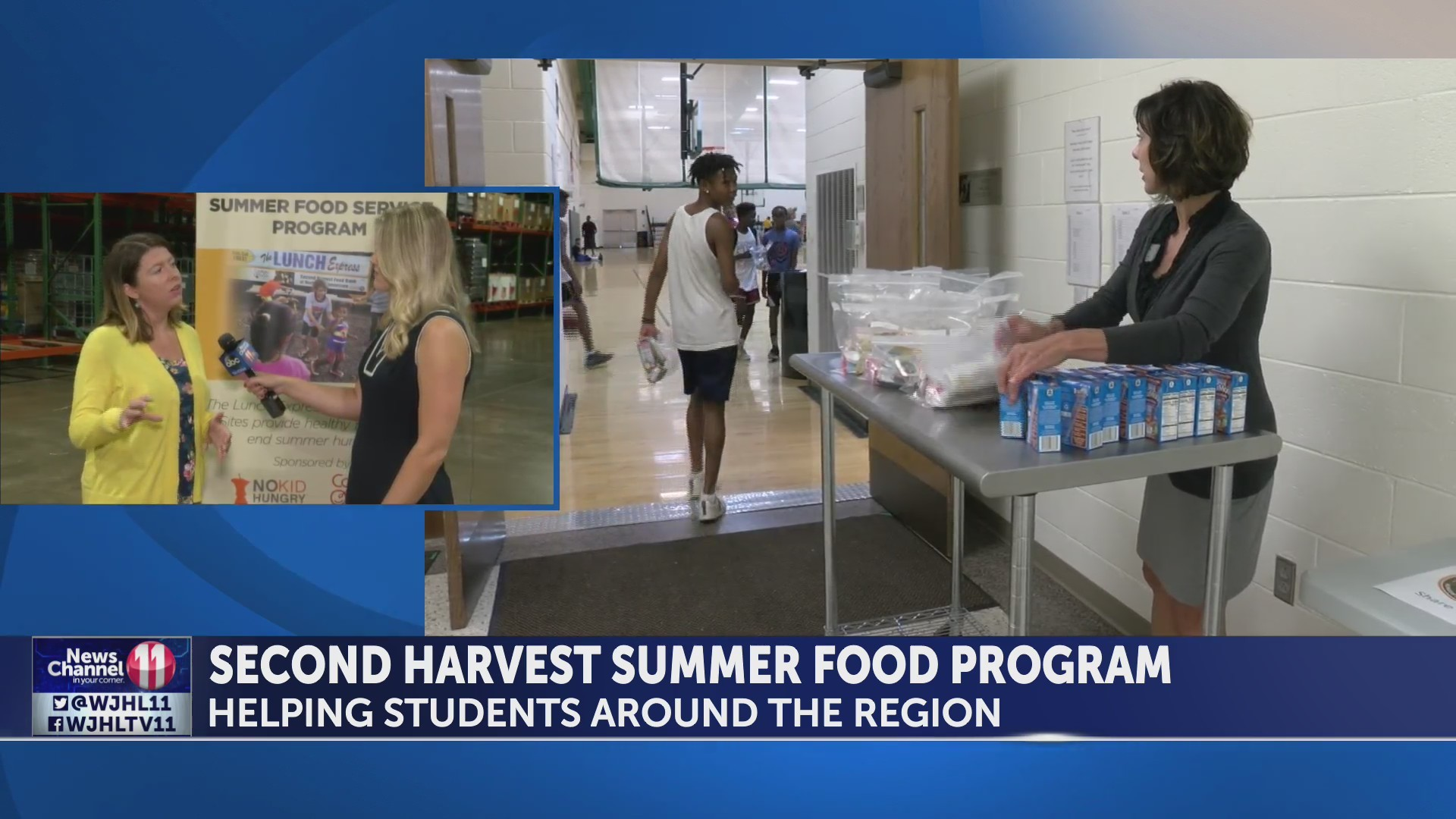 Second Harvest Food Bank working to keep food insecure kids fed during summer months